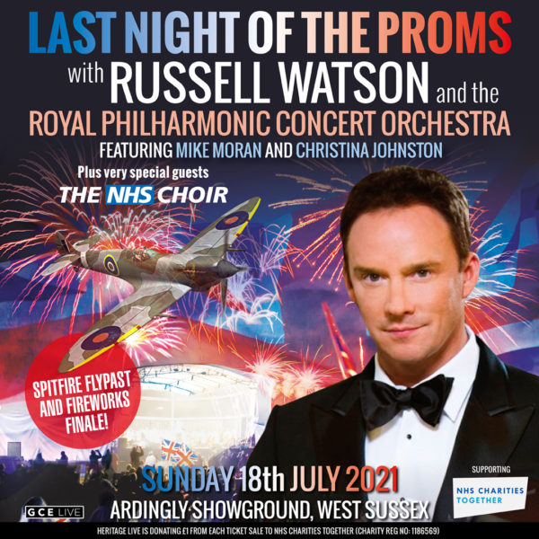 Russell Watson and the Last Night of the Proms