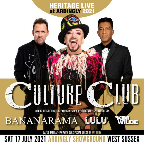Boy George & Culture Club PLUS Very Special Guests