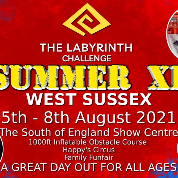 The Labyrinth Challenge Summer XL